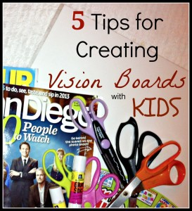 Vision Board Tips from MamaMaryShow