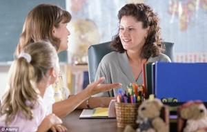 Parent Teacher in School