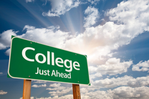 college-just-ahead-sign